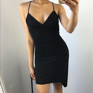 BCBG MaxAzria - Black Asymmetrical Dress